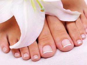 Ногти на ногах
